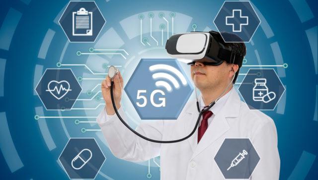 Redes 5G en medicna