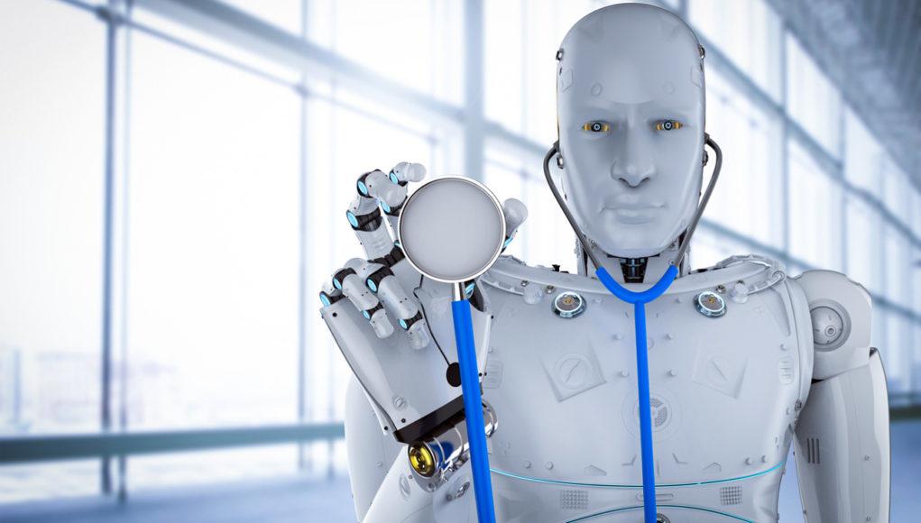 Robots al cuidado de la salud.