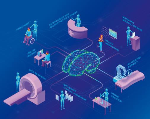 Aplicaciones de la inteligencia artificial en la salud.