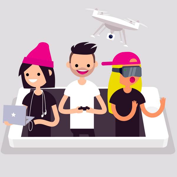 Generación Z: la vida en la pantalla