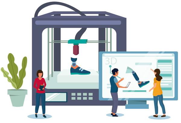 Inteligencia artificial para imprimir prótesis 3D