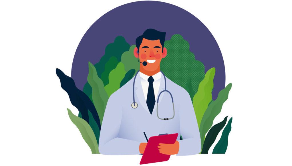Centros de contacto: atención sanitaria para universitarios