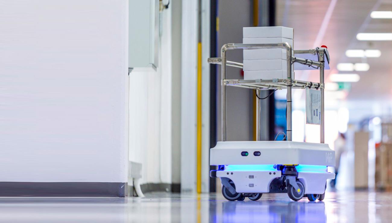 Robots autónomos en el sector salud