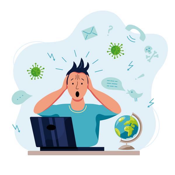 Universitarios y estrés durante la pandemia