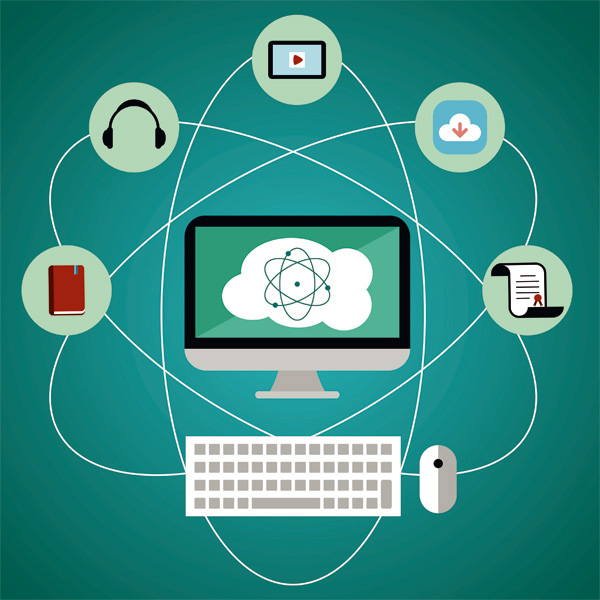 Almacenamiento de datos para el aprendizaje remoto