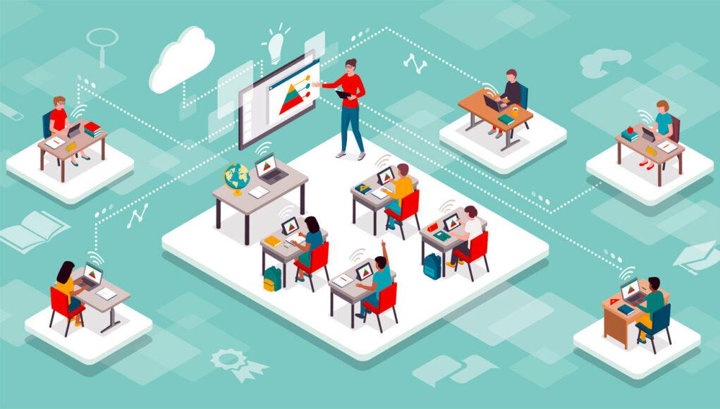 Tecnología para la educación a distancia