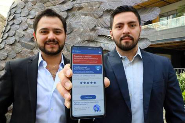 Roberto Riestra y Pablo Aguirre, de Meddi