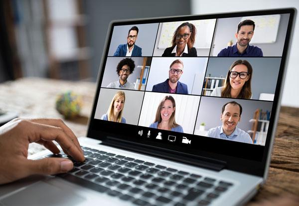 Agotamiento por videoconferencias