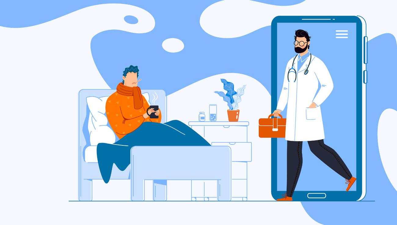 Telemedicina móvil para atender a pacientes aislados